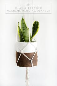 Diy Hanging Planters by 117 Best Diy Planters Images On Pinterest Plants Gardening And