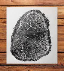 wood print anatomy of a black locust tree print prints posters