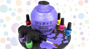 opi nail polish bottle cake from cookies cupcakes and cardio youtube