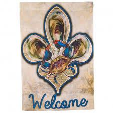 Fleur De Lis Home Decor Lafayette La Louisiana Flags Mardigrasoutlet Com