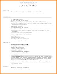 day care teacher resume resume for study