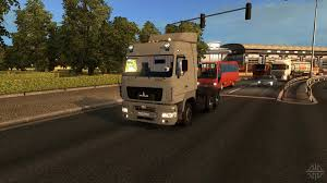 maz car a for euro truck simulator 2