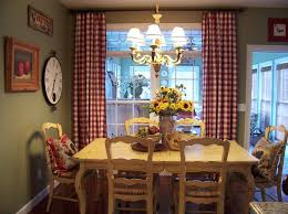 french country blue and yellow decor dining room farmhouse with