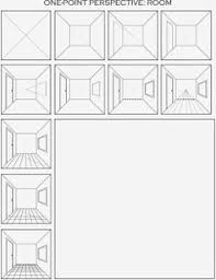 8th fantasy rooms in 1 point perspective art perspective