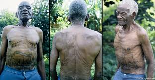 dinembo forbidden tattoos of the makonde of mozambique lars