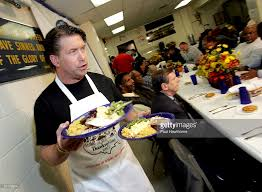 stephen baldwin serves thanksgiving dinner photos and images