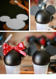 diy mickey minnie ornaments diy mickey mouse ornament diy