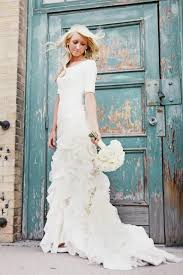 modest wedding dresses with 3 4 sleeves dress modest 2046833 weddbook