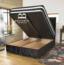super king ottoman bed king size storage beds ebay