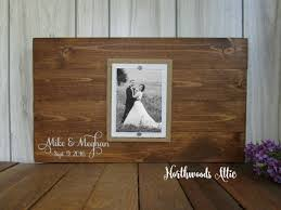 50th anniversary guest book personalized 42 best wedding guest book alternative wood signs by northwoods