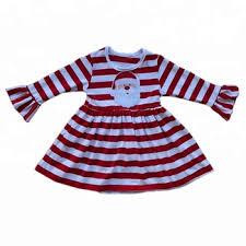 2018 Baby Girl Christmas Dress Children Frocks Designs Santa Claus