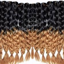 ombre kanekalon braiding hair kanekalon braiding hair