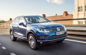 volkswagen touareg blue vw touareg by car magazine