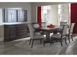 canadel custom dining customizable rectangular table with pedestal