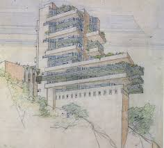 echoes of falling water in wright u0027s unbuilt projects