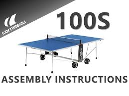cornilleau indoor table tennis table cornilleau usa 100s crossover assembly instructions indoor