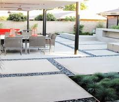 patio u0026 pergola theres his system on backyard concrete slab