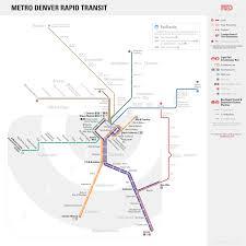 San Francisco Transit Map by Unofficial Future Map Metro Denver Rapid Transit Transit Maps
