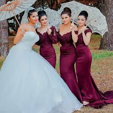 plus size burgundy bridesmaid dresses burgundy lace bridesmaid dresses mermaid the