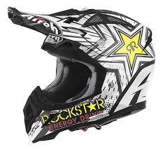 rockstar motocross helmet airoh aviator 2 2 rockstar motocross helmet ebay
