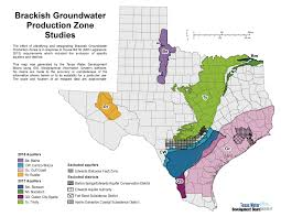 Midland Texas Map Innovative Water Technologies Brackish Groundwater Production