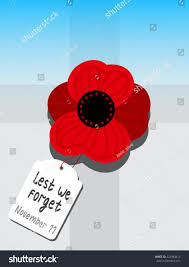 remembrance day poppy also poppy day stock vector 224984413