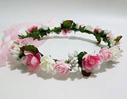 headband flowers hippy decorative pe foam flower girl crown