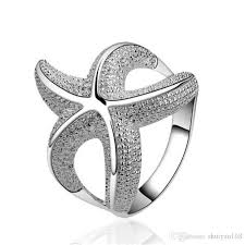 best rings design images Best quality starfish rings 925 sterling silver jewelry fashion jpg