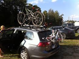 volkswagen golf wagon 2015 2015 volkswagen golf sportwagen crossbar system and bike racks for