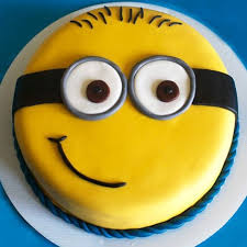 minions cake minion cake 1kg vanilla gift minion cake for kids 1kg