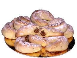 sicilian christmas cudurri braided buns 500g tray cookies