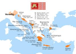 Map Venice Italy by Map Of Territories Of The Republic Of Venice And When They Were