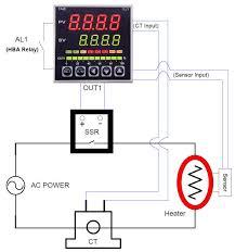 temperature controller wiring diagram temperature wiring