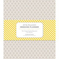 all the essentials wedding planner getting groomed chronicle books