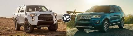 toyota 4runner vs lexus rx 350 compare 2017 toyota 4runner vs ford explorer