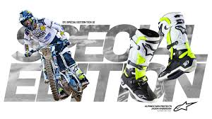 alpine star motocross boots alpinestars special edition d71 tech 10 transworld motocross