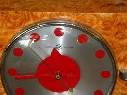 Herman Miller Clocks 1930 U0027s Herman Miller Modernist Clock Gilbert Rohde Sold Items