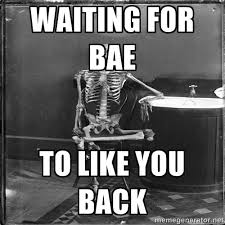 Skeleton Computer Meme - waiting skeleton meme generator image memes at relatably com