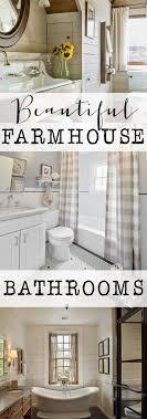 Farmhouse Bathroom Ideas Stunning Farmhouse Bathroom Ideas On Small Resident Decoration