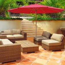 13 Foot Cantilever Patio Umbrella by Patio Make Your Weekend Relaxation Cooler By Putting The 13 Foot