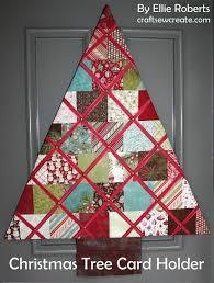 craft sew create christmas tree card holder u0026 an anniversary