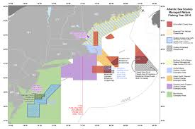 Map Of Usa With Coordinates by Atlantic Sea Scallop Noaa Fisheries