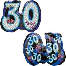 30th birthday balloons delivered big three oh birthday balloon delivery 30th birthday balloons