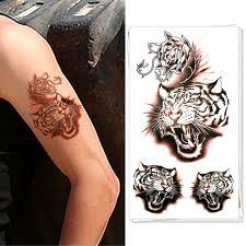 popular tiger wall tattoo buy cheap tiger wall tattoo lots from
