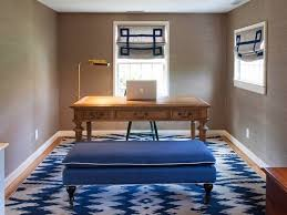 navy ikat wallcovering design ideas
