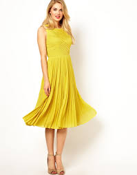 dresses for wedding guests cheerful collections of yellow wedding guest dresses cherry