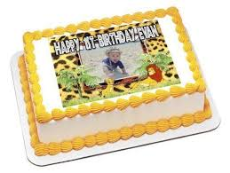 Lion King Baby Shower Cake Ideas - lion king cake toppers ebay