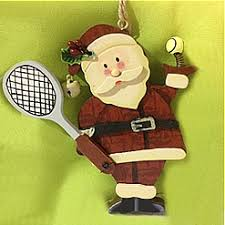 tennis ornaments