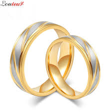 aliexpress buy 2017 wedding band for men 316l louleur 2017 fashion wedding bands rings for women men 316l
