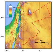 Jordan River Map Maps Of Jordan Detailed Map Of Jordan In English Tourist Map